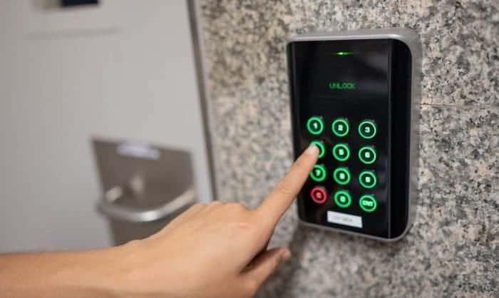 access-key-pad