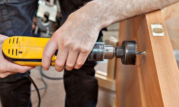 best door lock installation kit