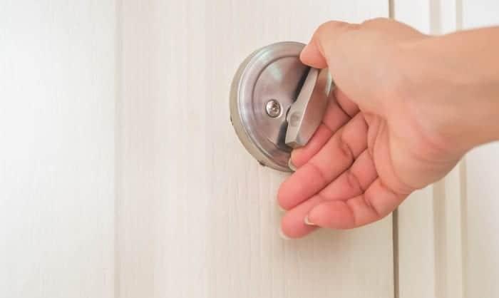 best pocket door lock