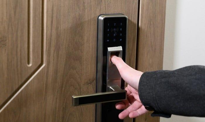best biometric door lock