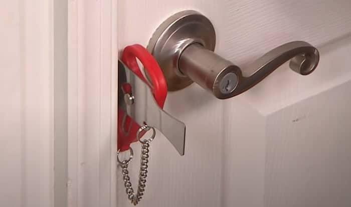 best portable door lock