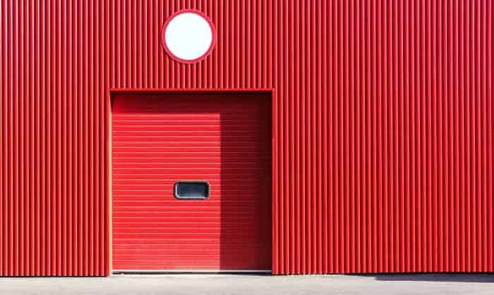 how to lock garage door from outside