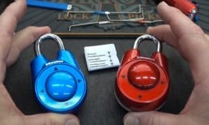 how to open a master lock speed dial