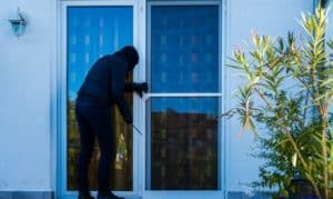 how to secure french doors from burglars
