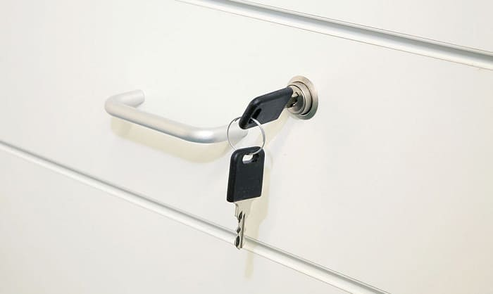 how to replace a lost file cabinet key