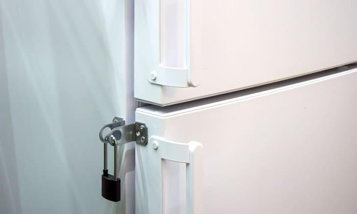 best refrigerator lock