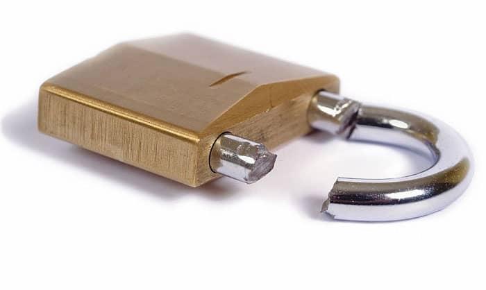 cut-padlock